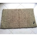 Tapis rectangle couleur lin